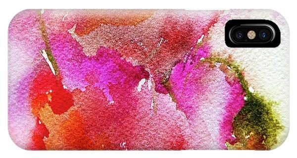 Poppy Garden IPhone Case
