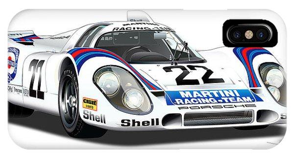 Porsche 917 Illustration IPhone Case
