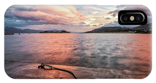 Port Appin Sunrise IPhone Case