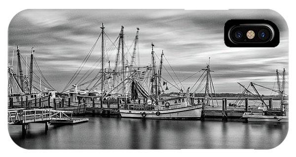 Port Royal Shrimp Boats IPhone Case