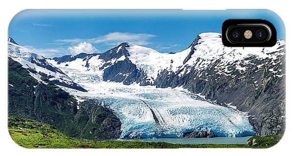 Portage Glacier IPhone Case