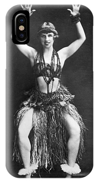 Hawaii iPhone Case - Portrait Of Dancer Agnes Boone by Underwood Archives