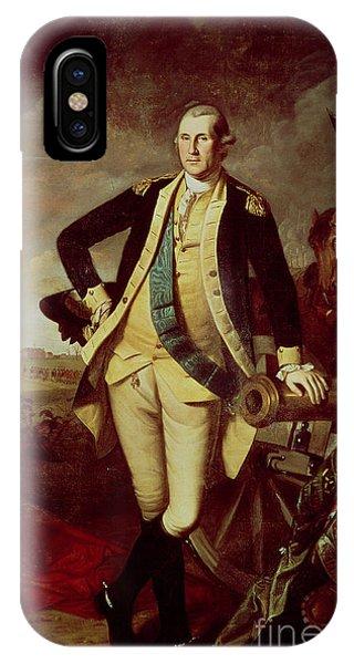 Portrait Of George Washington IPhone Case