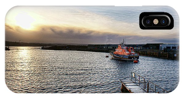 Portrush Rnli Lifeboat IPhone Case