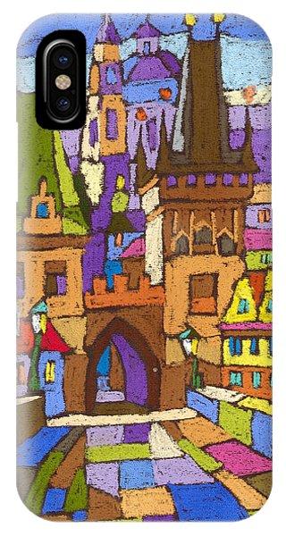 Pastel iPhone Case - Prague Charles Bridge 01 by Yuriy Shevchuk