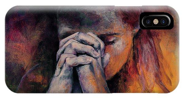 Praying IPhone Case