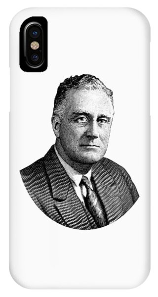 President Franklin Roosevelt Graphic  IPhone Case