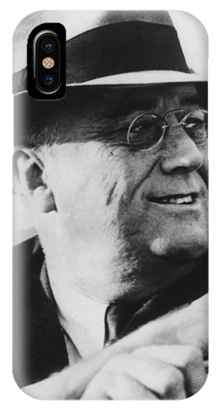 Leader iPhone Case - President Franklin Roosevelt by War Is Hell Store