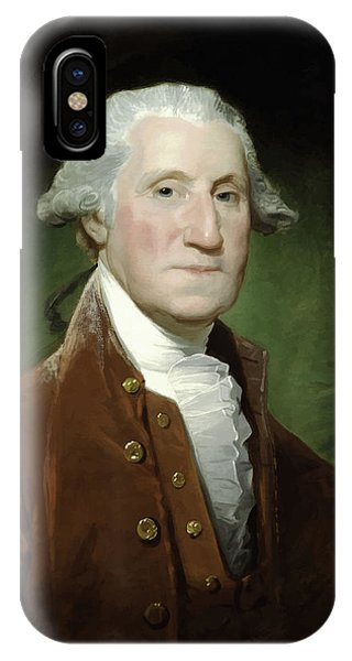 Washington iPhone Case - President George Washington  by War Is Hell Store