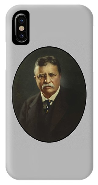 Hero iPhone Case - President Theodore Roosevelt  by War Is Hell Store
