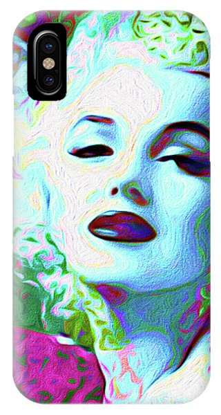 iPhone Case - Primatic Marilyn Monroe by Chris Andruskiewicz