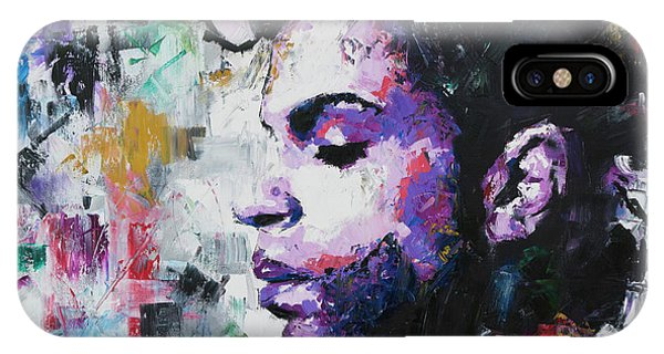 Contemporary iPhone Case - Prince by Richard Day
