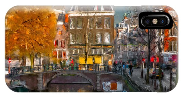 Prinsengracht 807. Amsterdam IPhone Case