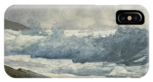 Homer iPhone Case - Prouts Neck, Breakers by Winslow Homer