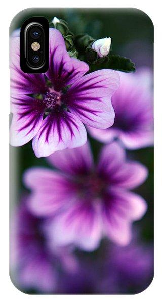 Purple Beauties IPhone Case