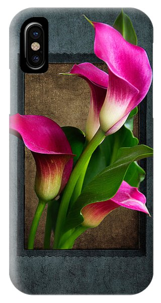 Purple Calla Lily IPhone Case