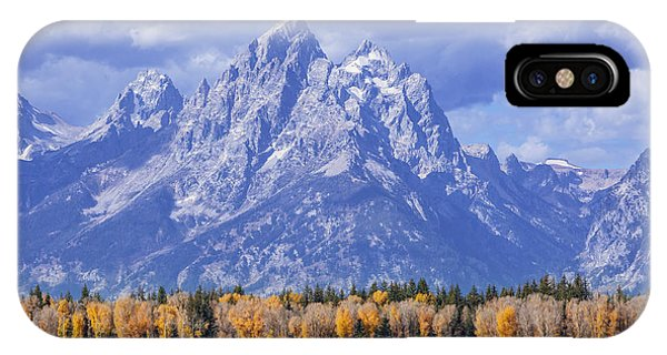 Purple Mountains Majesty IPhone Case