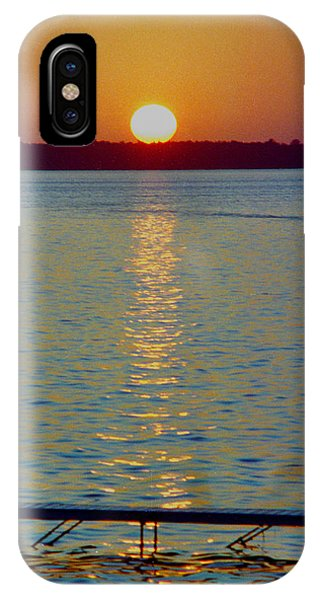 Quite Pier Sunset IPhone Case