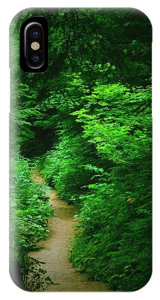Rain Forest Walk IPhone Case