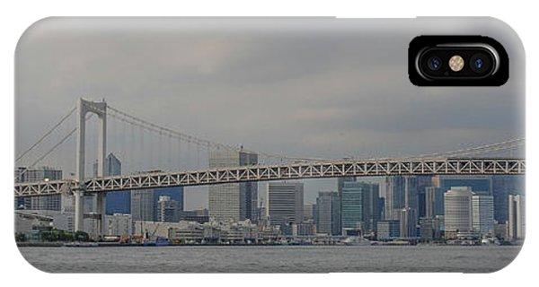 Odaiba iPhone Case - Rainbow Bridge by Megan Martens