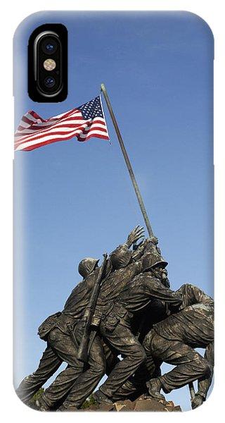 Raising The Flag On Iwo - 799 IPhone Case