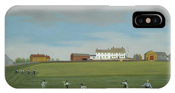 Plowing iPhone Case - Ralph Wheelock's Farm by Francis Alexander