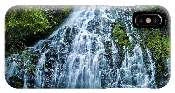 Ramona Falls Cascade IPhone Case