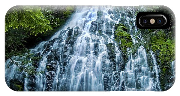 Ramona Falls Cascade IPhone Case