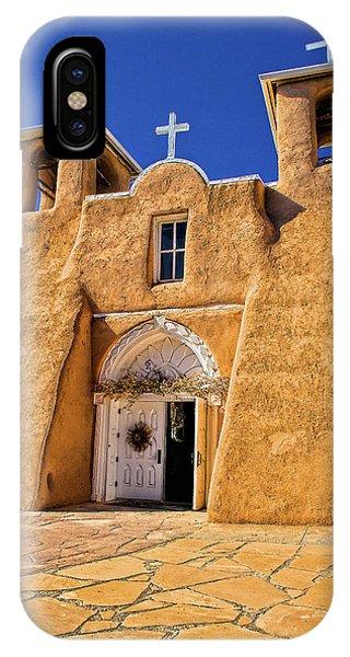 Ranchos De Taos Church  IPhone Case