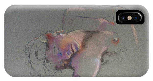 Reclining Study IPhone Case