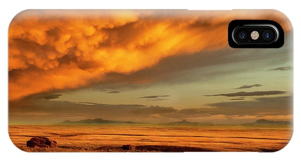 Red Rock Coulee Sunset 1 IPhone Case