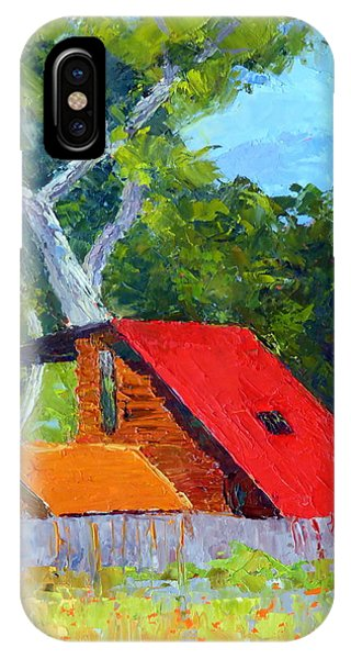 Red Roof IPhone Case