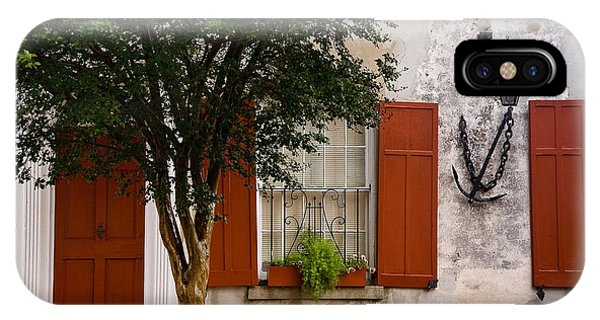 Red Shutters IPhone Case