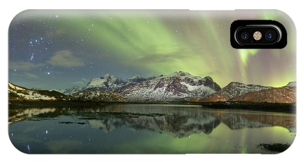 Reflected Lights IPhone Case