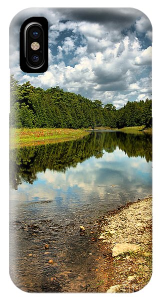 Reflection Of Nature IPhone Case