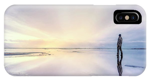 Desolation iPhone Case - Revelations by Evelina Kremsdorf