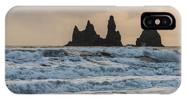 IPhone Case featuring the photograph Reynisdrangar by James Billings