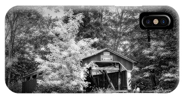Covered Bridge iPhone Case - Richards No 31 by Marvin Spates