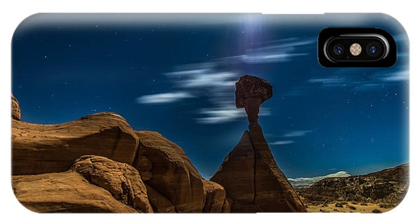 Monument Valley iPhone Case - Rim Rock Toadstools Grand Staircase National Monument  by Larry Marshall