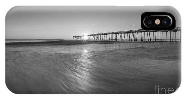 Rise And Shine At Nags Head Pier IPhone Case