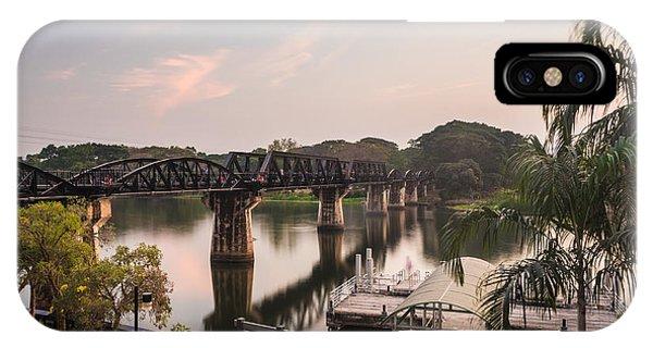 River Kwai Bridge IPhone Case