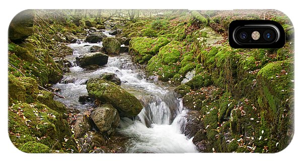 River Lyd On Dartmoor IPhone Case