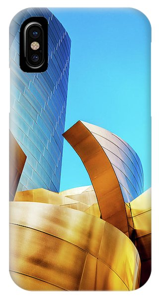 Gehry iPhone Case - River Of Gold by Az Jackson