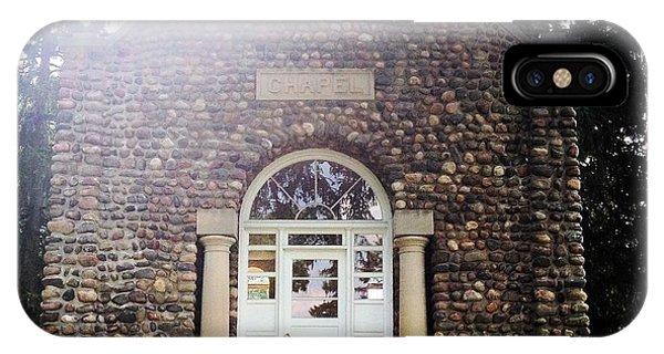 Riverside Cemetery Chapel IPhone Case