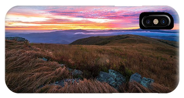 Roan Mountain Sunrise IPhone Case