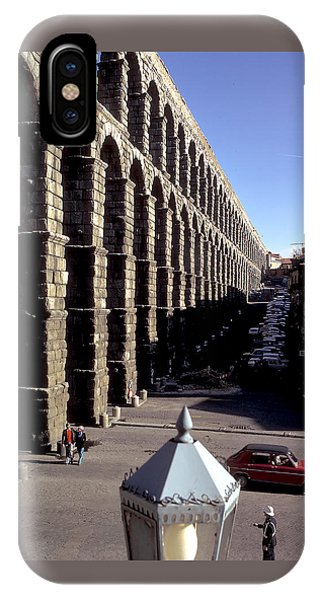Roman Aquaduct In Segovia Phone Case by Carl Purcell