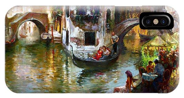 Romance iPhone Case - Romance In Venice by Ylli Haruni