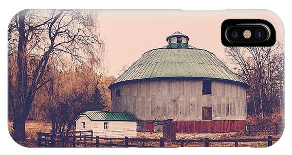 Round Barn IPhone Case