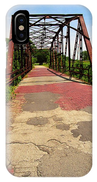 Route 66 - One Lane Bridge IPhone Case
