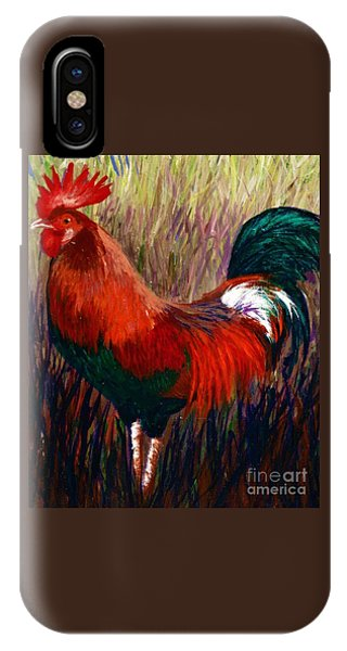 Rudy The Rooster IPhone Case